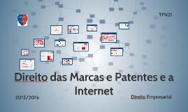 Direito das Marcas e Patentes e a Internet