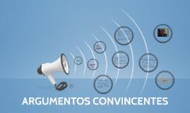 Copy of ARGUMENTOS CONVINCENTES