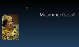 Muammer Gadaffi
