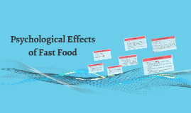 Copy of Psychological Effects of Fast Food