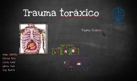Copia de TRAUMA TORAXICO