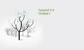 Español 3/4: