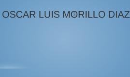 OSCAR LUIS MORILLO DIAZ