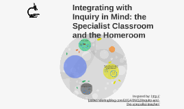 Inquiry in the Specialist Classroom