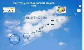 Presentación departamento de soporte 2013