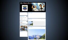 Mrs. Riley's ELA 2018-2019