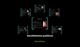 Copy of movimientos poeticos ( linea del tiempo )