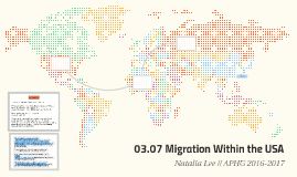 03.07 Migration Within the USA