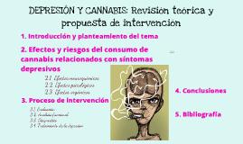 Cannabis y depresión