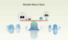 Muziek Klas 2 Quiz