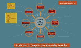 Introduction to Complexity & Personality Disorder