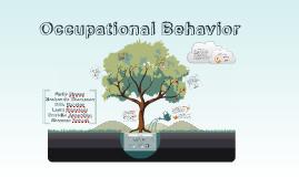 Copy of Occupational Behavior *