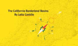 The California Borderland Basins