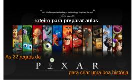 As 22 Regras da Pixar para contar uma história cativante