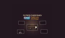 FILTROS CHEVISHEV