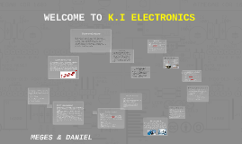 WELCOME TO K.I ELECTRONICS