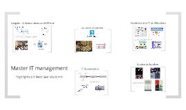 Copy of IT management en strategie