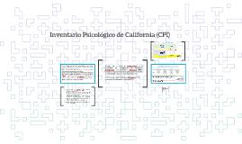 Inventario Psicológico de California (CPI)