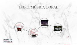 CORO/MÚSICA CORAL