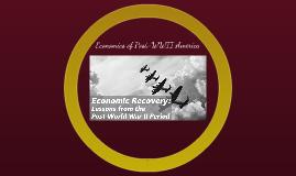 Economics of Post WWII