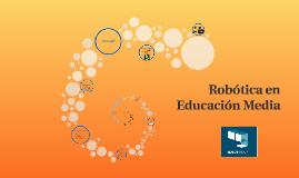 Robótica en Educación Media