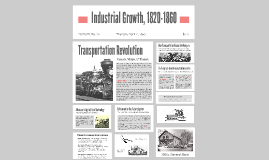 Industrial Growth, 1820-1860