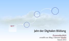 Jahr der Digitalen Bildung