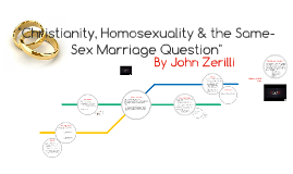 Christianity, Homosexuality & the Same-Sex Marriage Question