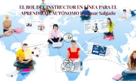 El rol del instructor en línea para el aprendizaje autónomo