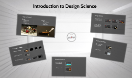 Introduction to Design Science