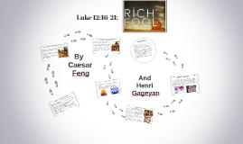 ANALYSIS AND INTERPRETATION OF Luke 12:16-21