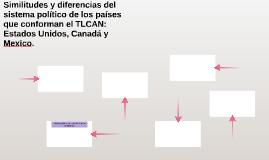 Similitudes y diferencias del sistema político de los países