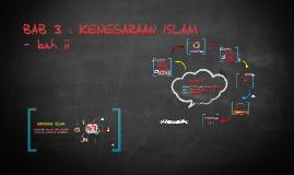 BAB 3 : KENEGARAAN ISLAM - bah ii