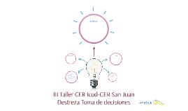 III Taller CER Icod-CER San Juan