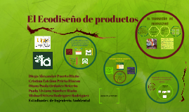 El Ecodiseño de productos