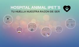 HOSPITAL ANIMAL IPET´S