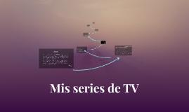 Mis series de TV
