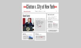 Clinton v. City of New York