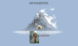 Copy of MI MASCOTA