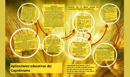 Copy of Aplicaciones educativas del Cognitivismo