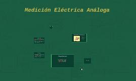 Medición Eléctrica Análoga