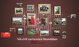 Női civil szervezetek Ruandában