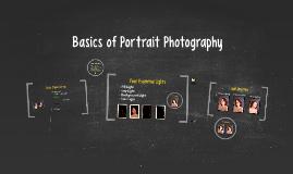 Basics of Portrait Photography