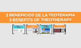 3 beneficios de la teoterapia