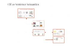 CH 10 Sentence Semantics