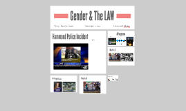 Gender & The LAW