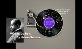 W. E. B. Du Bois von Hakan Sensoy (EMA)