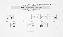 Great Depression Timeline by Maggie Matern on Prezi
