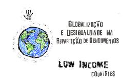 Globalização e Desigualdade na Repartição de Rendimentos