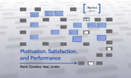 Motivation, Satisfaction, and Performance